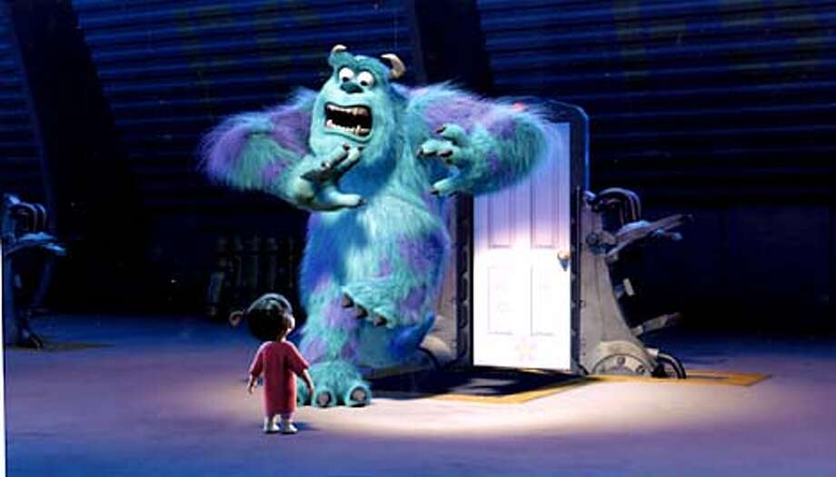 Monsters Inc. movie photo.