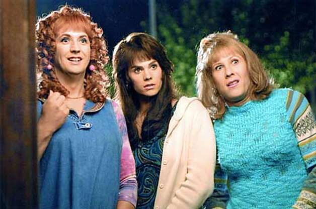 Left to right: Harland Williams, Barry Watson, and Michael Rosenbaum in Sorority Boys. Photo: HANDOUT