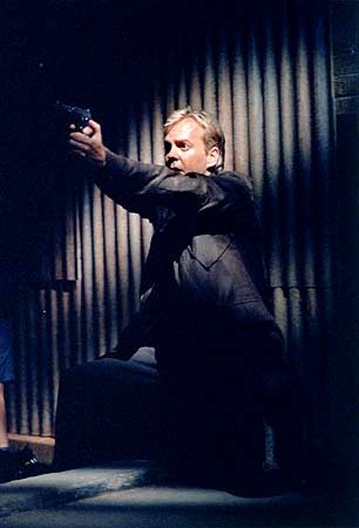 Keifer Sutherland as Jack Bauer on 24 on FOX. ��2001FOX BRODACASTING CR:Richard Foreman/FOX.