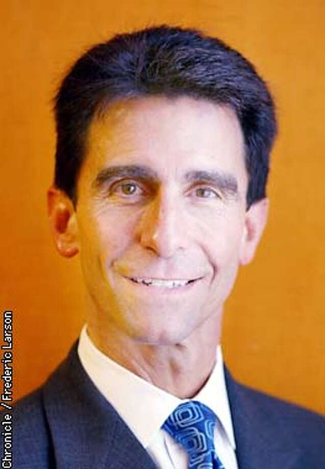 ASSEMBLY1-C-20FEB02-MT-FRL: Mark Leno on the campaign trail with candidates for the 13th assembly district; mark is the frontrunner and a favorite of the business community. Chronicle photo by Frederic Larson
