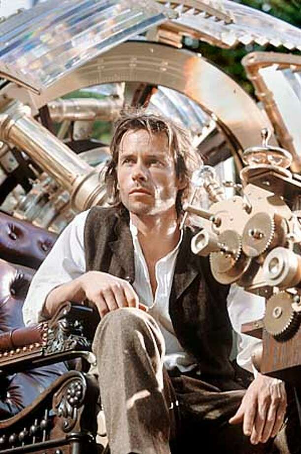 """In """"The Time Machine,"""" Guy Pearce invents a device that transports him 800,000 years into the future."""