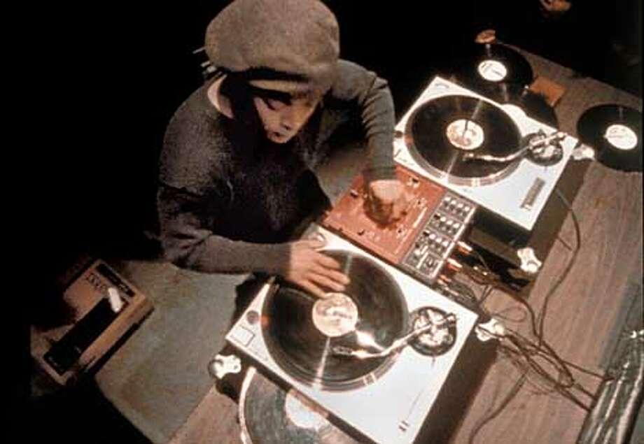 DJ Qbert performs in SCRATCH. Photo: HANDOUT