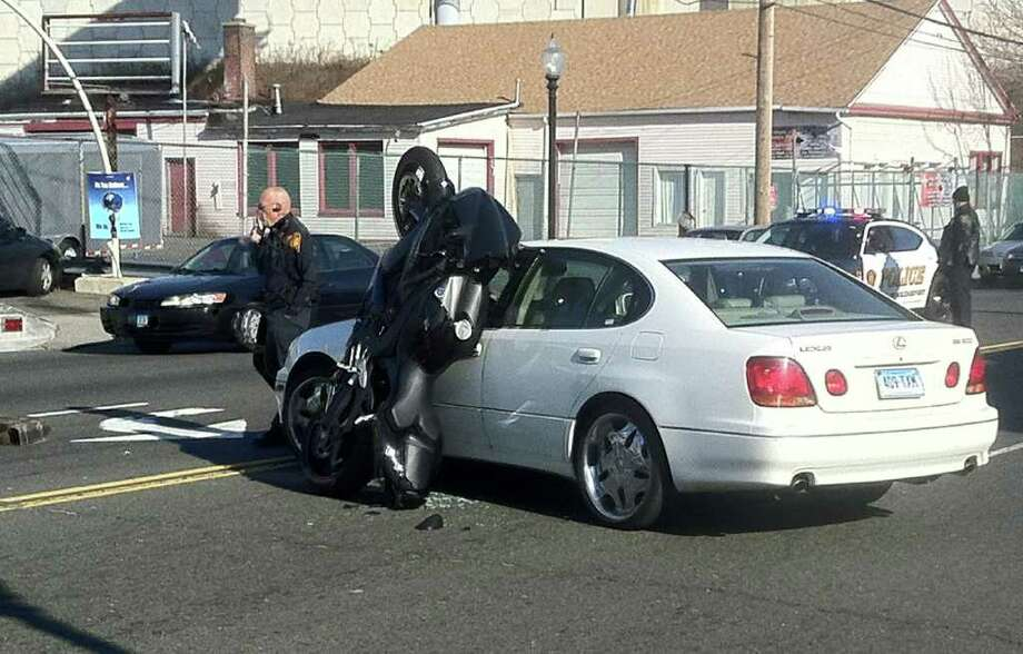FILE: A report found is that drivers in Bridgeport find themselves in car crashes once every 6.7 years, a likelihood 49.8 percent greater than the national average of 10 years between crashes. Photo: Tom Cleary