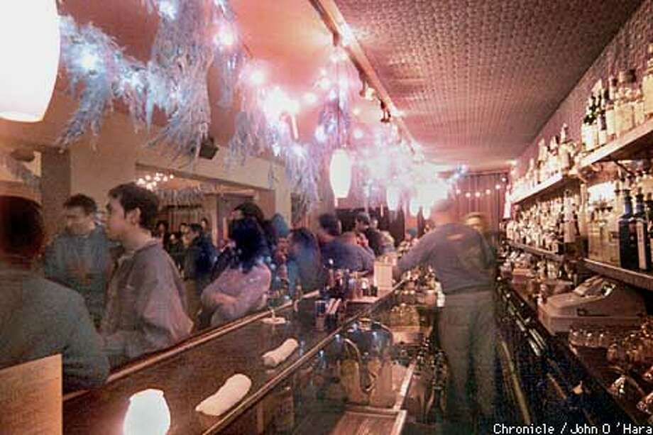 "26 MIX, 3024 Mission St. The Bored Collective, a monthly spoken word performance.  View of the bar Looks like anyother night scene at a bar in the Mission  A dark, very dark little bar. Where owners and promoters and artist go for the to quote a participant, ""The cutting edge"". (I'D's to come, I have to go home and try and find paper)  photo/John O'Hara Photo: John O'Hara"