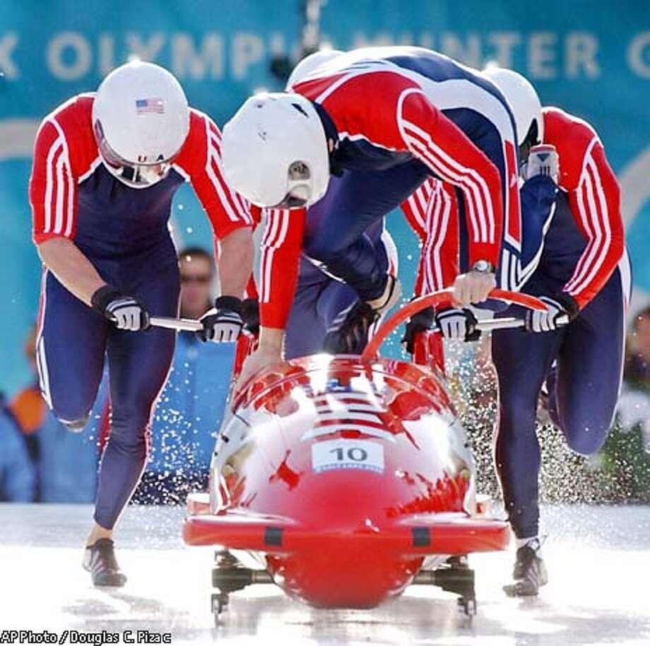 Olympics Picture Gallery: Week 2 - SFGate  |Garrett Hines Olympics