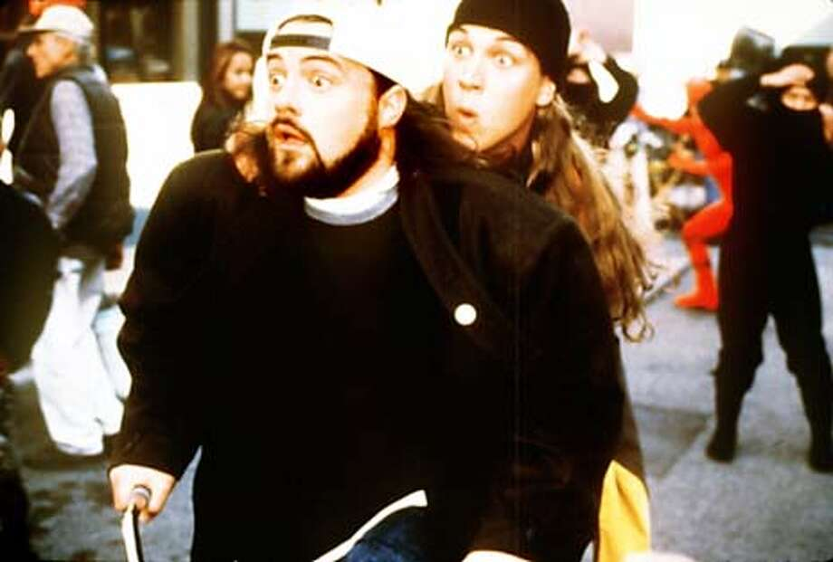 Kevin Smith and Jason Mewes in Kevin Smith's Jay and Silent Bob Strike Back. Photo: HANDOUT