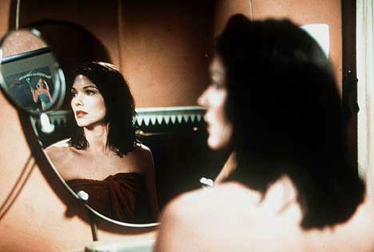 Laura Elena Harring (Rita) stars in Mullholland Drive, a Universal Pictures release.