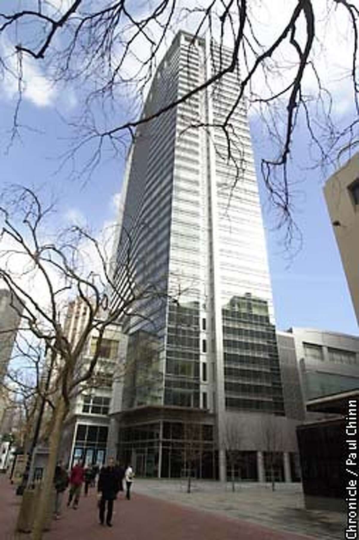 The 36-story Four Seasons tower on Market St. is a dominate new building on the downtown skyline. PAUL CHINN/S.F. CHRONICLE