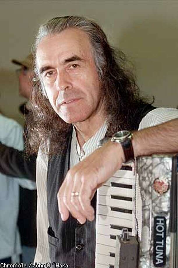 San rafael,CA.  Pete Sears, Keyboard and accordion, Photo/John O'Hara Photo: John O'Hara