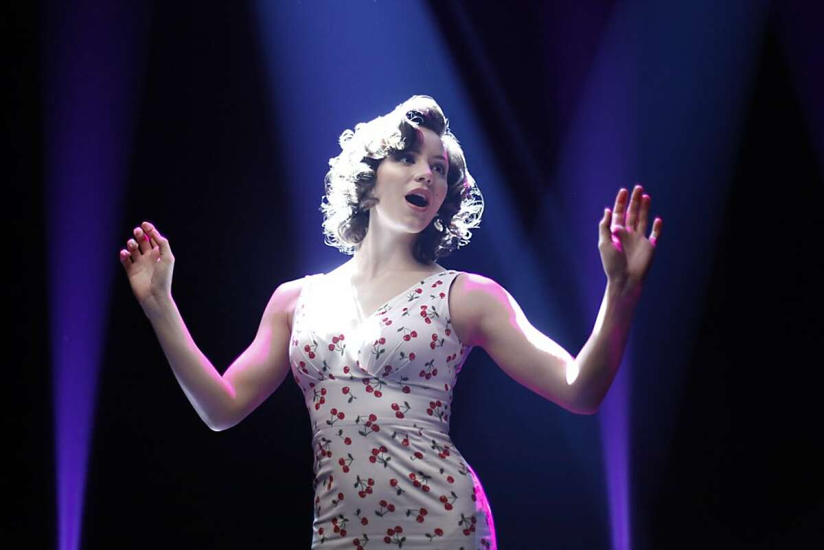 In this image released by NBC, Katharine McPhee portrays Karen Cartwright in the new series