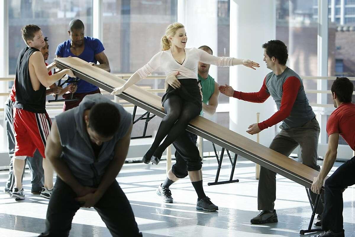 SMASH -- Pilot -- Pictured: Megan Hilty as Ivy Lynn
