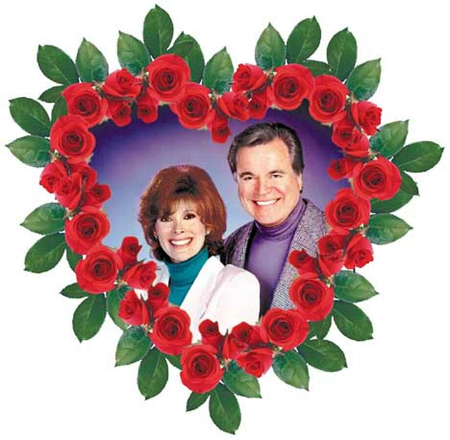 Jill St. John and Robert Wagner say their own marriage adds intimacy to their performance.