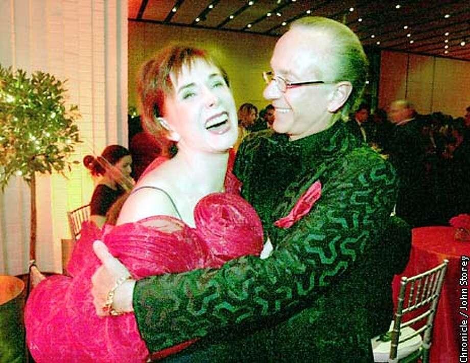 Norah and Norman Stone at the Valentine Ball at SF MOMA. Photo by John Storey. Photo: JOHN STOREY