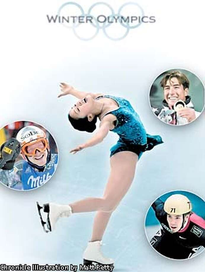 ADVANCE FOR WEEKEND EDITIONS, MARCH 17-18 -- FILE -- performs during the Ladies short program at the U.S. Figure Skating Championship in Boston, in this January 19, 2001 photo. (AP Photo/Charles Krupa) Photo: CHARLES KRUPA