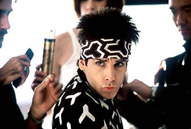 Ben Stiller in Zoolander. Photo: HANDOUT