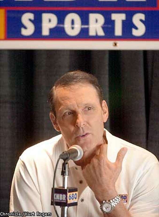 Rick Barry joins KNBR 680 as he takes over the midday time slot Photo: Kurt Rogers