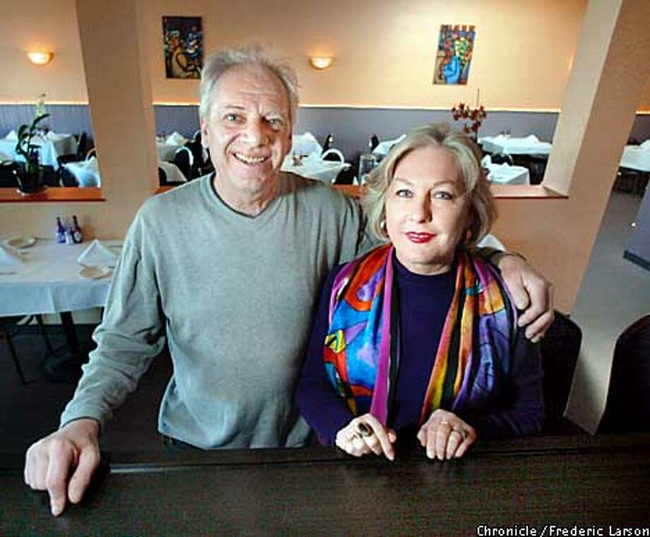 : Tess and Gene Ostopowicz, owners of GTO's Seafood House, 234 South Main St. Sebastopol, CA. GTO's Seafood House, one of the few places in the North Bay to enjoy authentic Creole food, since it'll be Mardi Gras weekend in New Orleans. Chronicle photo by Frederic Larson Photo: FREDERIC LARSON
