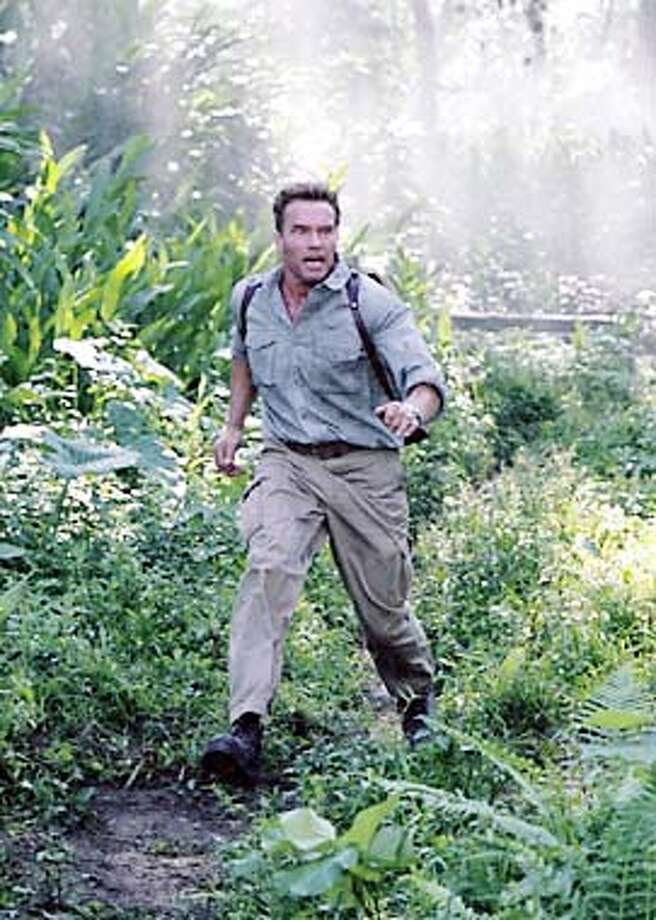 "C95-2C ARNOLD SCHWARZENEGGER in Warner Bros. Pictures� and Bel-Air Entertainment�s action thriller ""Collateral Damage."""