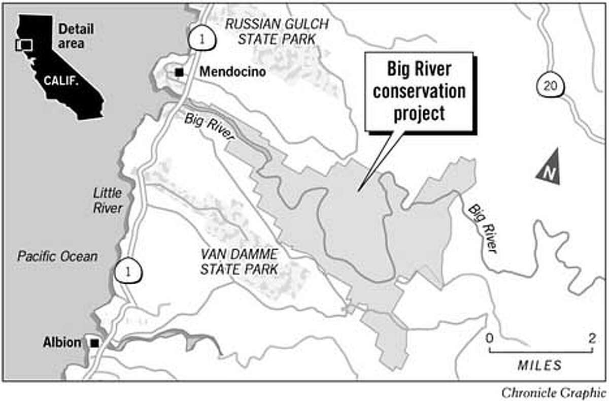 Big River Conservation Project. Chronicle Graphic