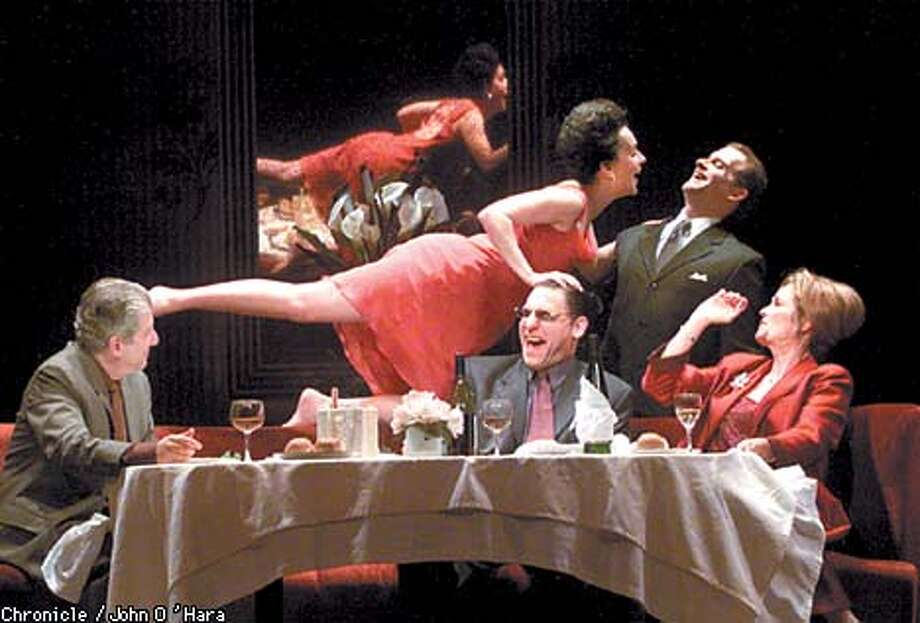 "Geary THeater, San Francisco,CA  ""Celebration"" by Harold Pinter.  Program with proofs. for ID help  photo/John O'Hara Photo: John O'Hara"