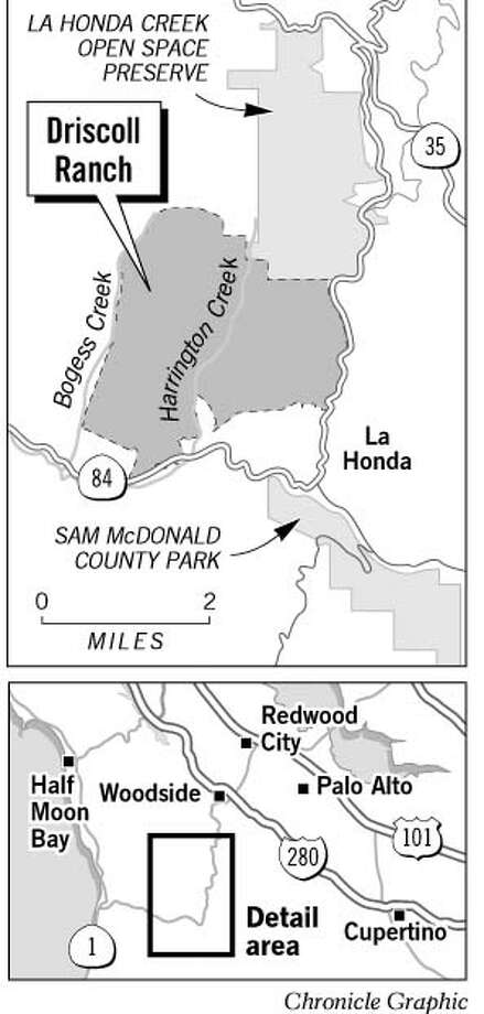 Driscoll Ranch. Chronicle Graphic