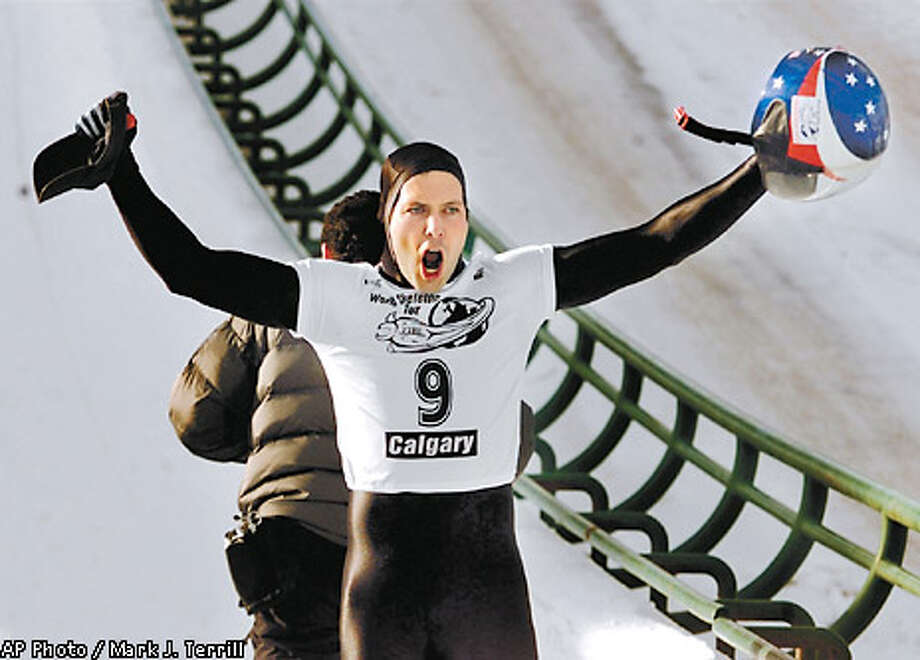 Chis Soule will represent the United States in skeleton at the Winter Olympics in Salt Lake City. Associated Press photo by Mark J. Terrill