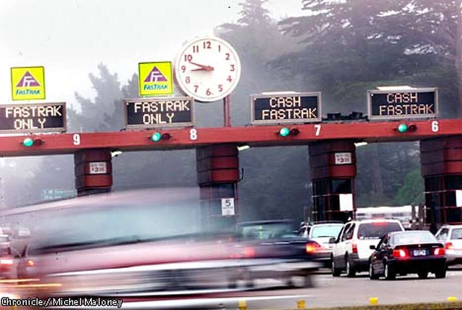 Toll at the Golden Gate Bridge may go up again.  CHRONICLE PHOTO BY MICHAEL MALONEY Photo: MICHAEL MALONEY