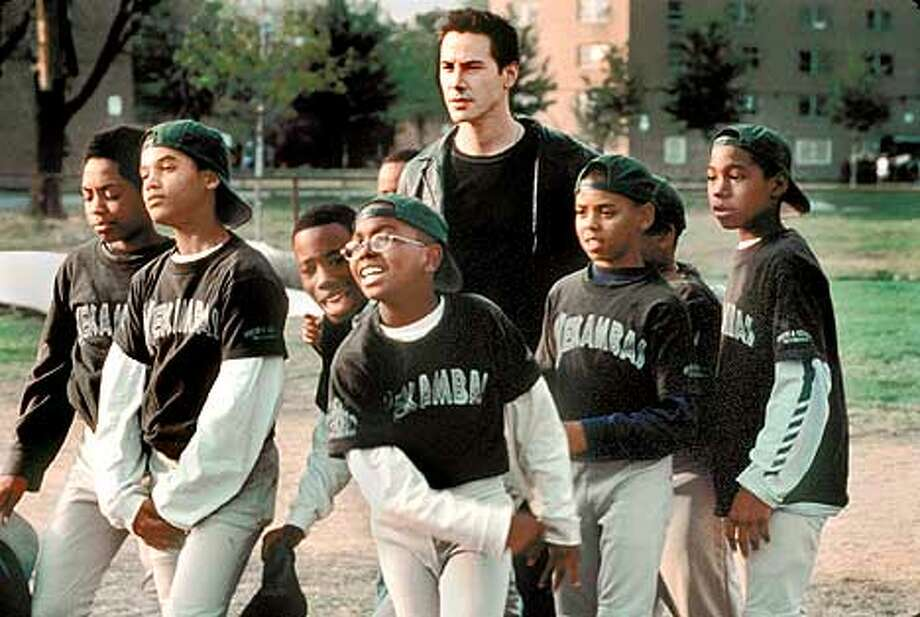 "Keanu Reeves takes on a team that nobody else wants in ""Hardball."""