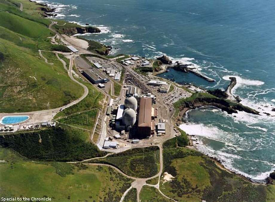 PG&E 2/C/21MAY96/BU/HO  San Luis Obispo County faces a fiscal meltdown from losing its chief source of revenue - Diablo Canyon - as a result of energy industry restructuring. PG&E proposes to accelerate its depreciation. ALSO RAN: 03/15/2001 Photo: HO