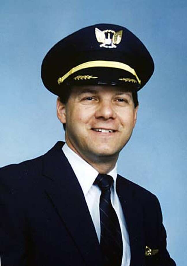 Jason Dahl, in this undated photo, was the captain of United Airlines Flight 93 from Newark, N.J. to San Francisco that crashed in rural southwest Pennsylvania after being hijacked Tuesday, Sept. 11, 2001. (AP Photo/San Jose Mercury News)