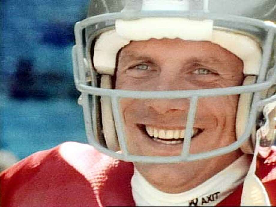 Joe Montana featured on A&E biography. HANDOUT.