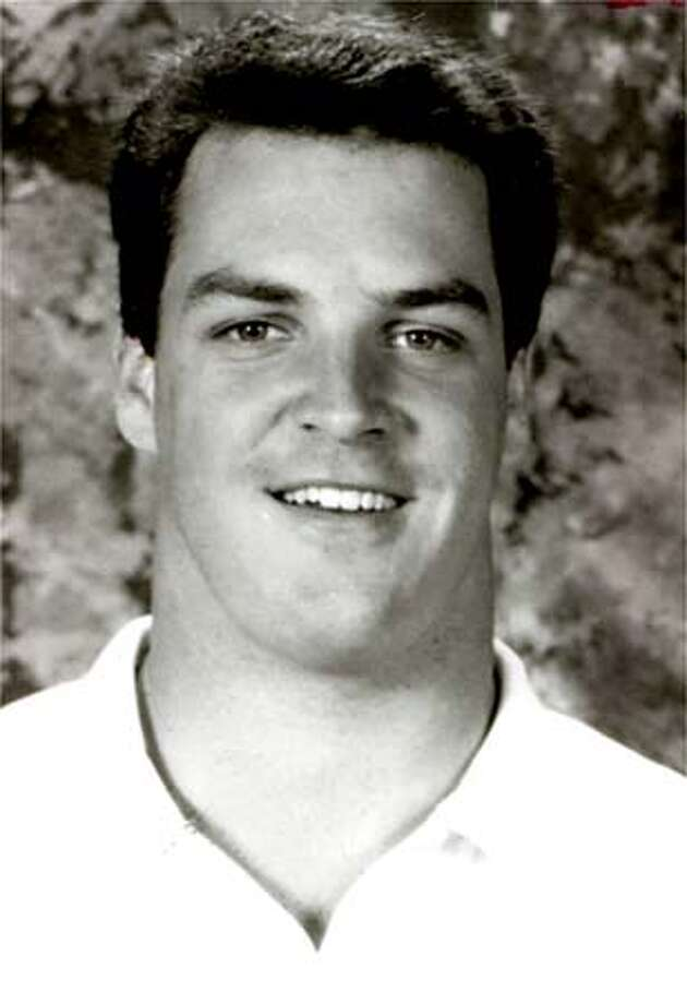 Brent Woodall, former Cal football player, in 1991. Photo: HANDOUT