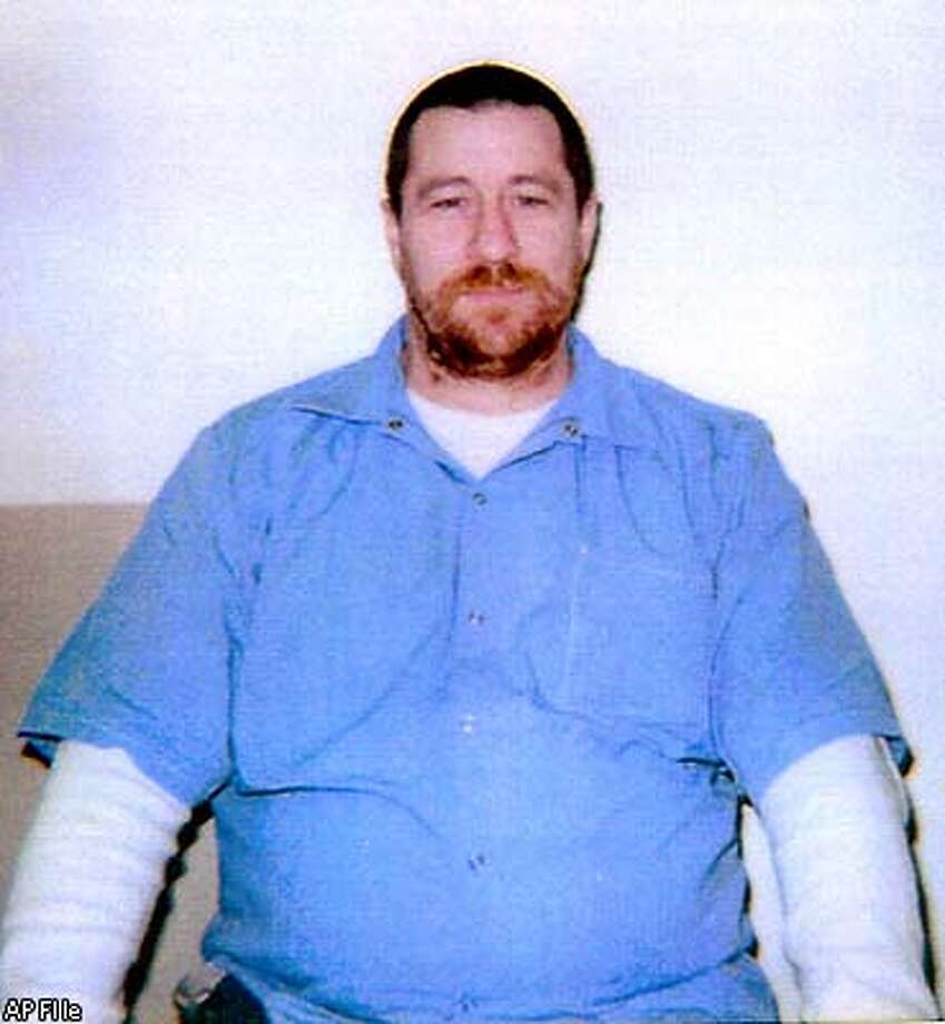 FILE--Stephen Wayne Anderson, is seen in this undated family handout photo. Anderson, 48, was convicted in the 1980 slaying of 81-year-old Elizabeth Lyman. He is scheduled for execution Jan. 29, 2002. (AP Photo/File)