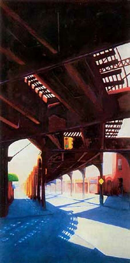 """Dead End,"" 2000, oil on linen"