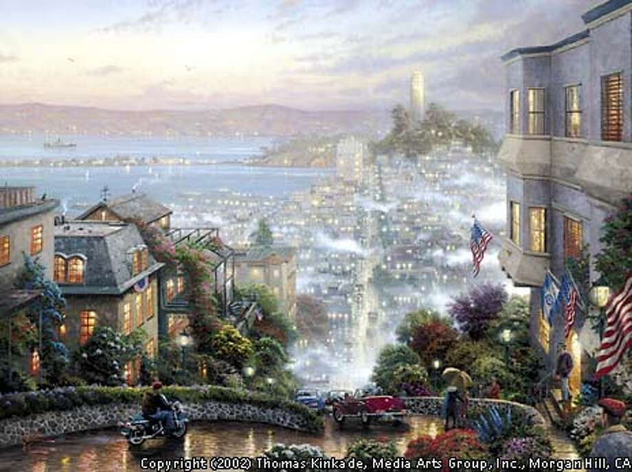 """SEE NOTE BELOW:  When using images provided to your company by Media Arts Group, Inc., the copyright information that we require to be placed under or next to the images is: """"Copyright (year) Thomas Kinkade, Media Arts Group, Inc., Morgan Hill, CA"""". Photo: Handout"""