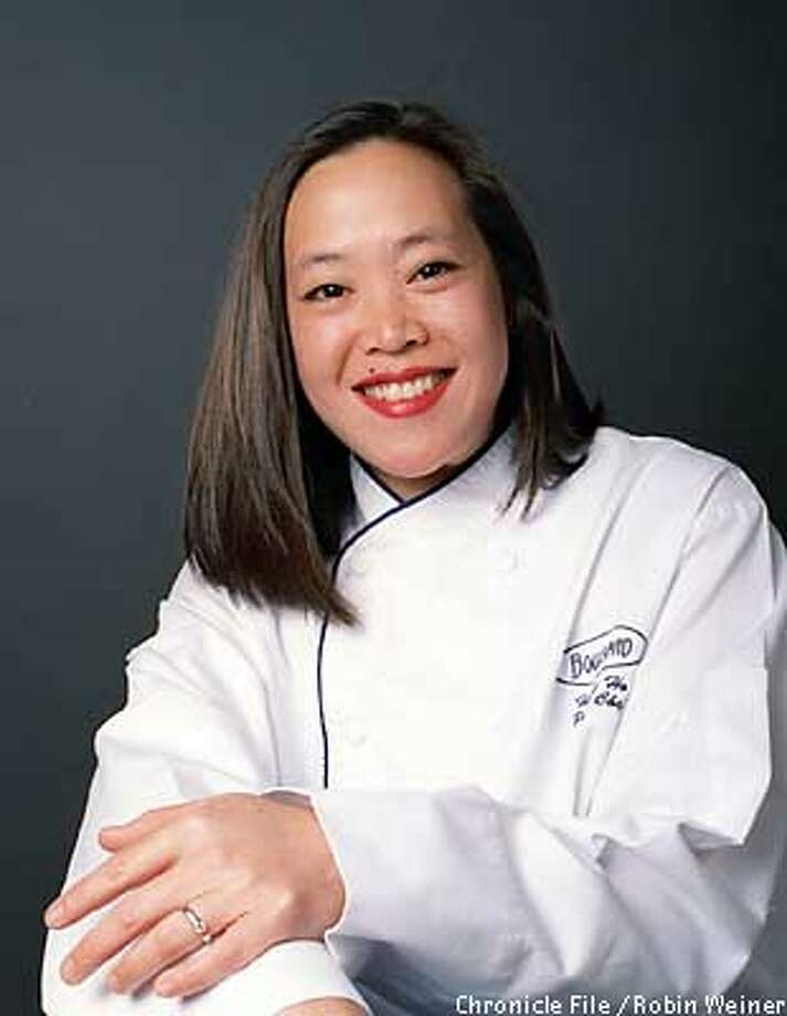 Heather Ho, pastry chef at Boulevard in San Francisco. She may be a victim in the World Trade Center attack.  BY ROBIN WEINER/THE CHRONICLE Photo: ROBIN WEINER