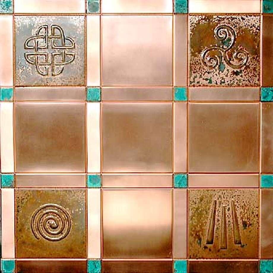 Metal Mosaics  HANDOUT Photo: HANDOUT