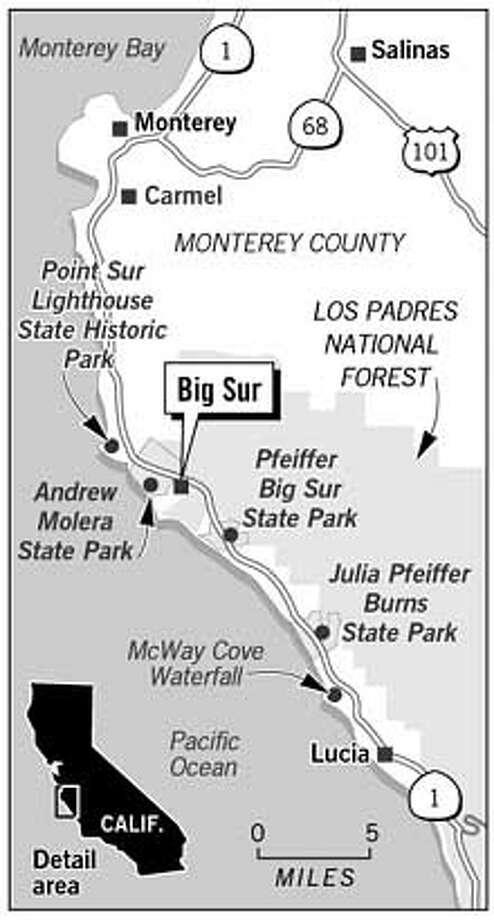 Big Sur. Chronicle Graphic