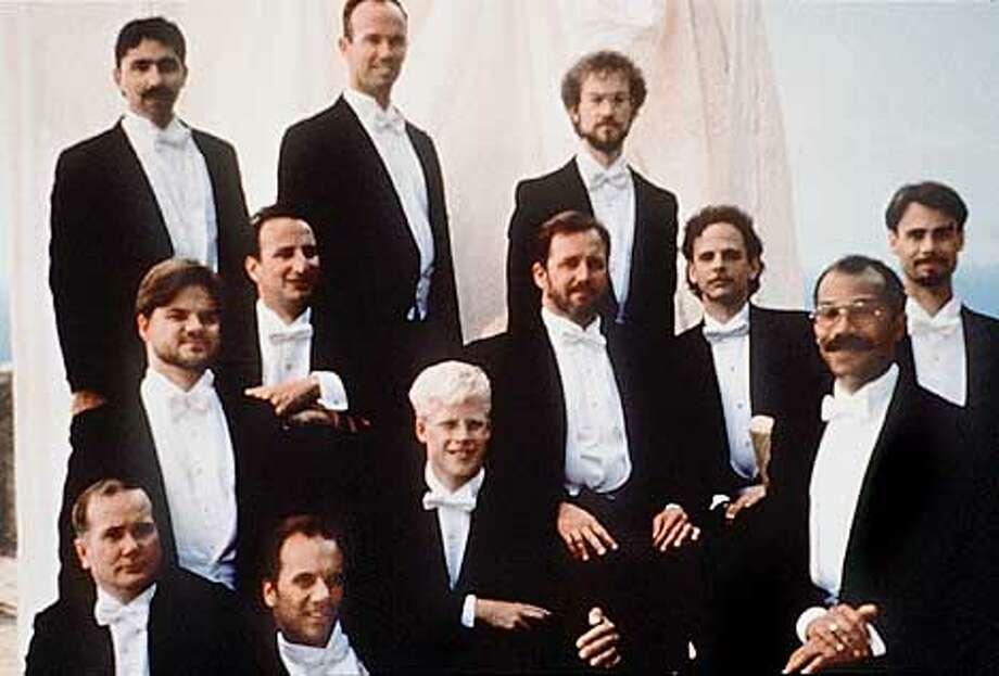 SF gay men's chorus group CHANTICLEER.