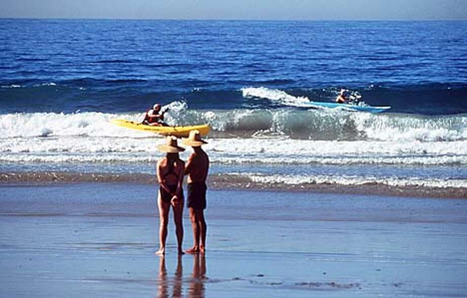 ELIZABETH HANSEN, SPECIAL TO THE CHRONICLE  KAYAKING AT LA JOLLA SHORES BEACH IN SAN DIEGO, CALIFORNIA Photo: HANDOUT