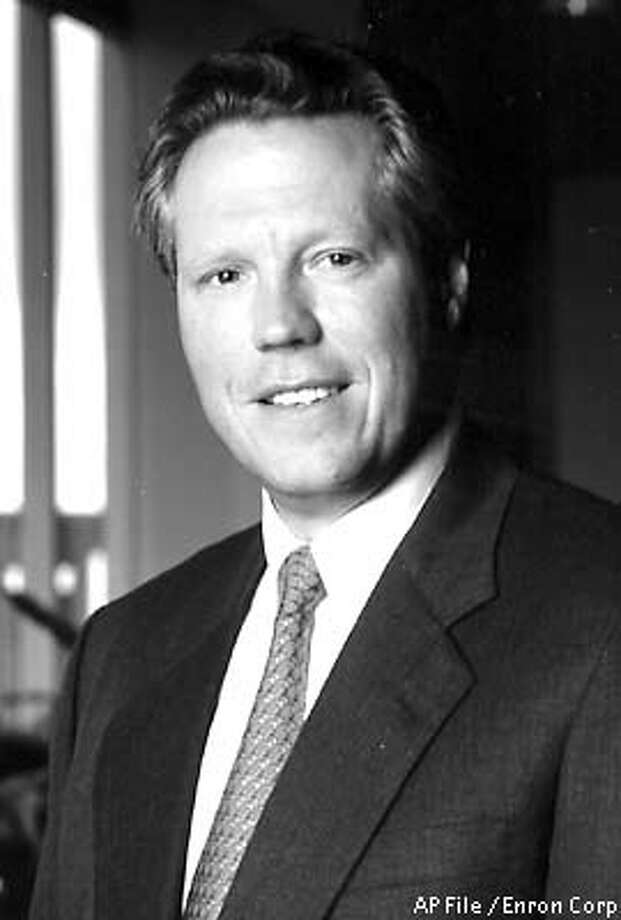 RETRANSMISSION TO UPDATE SOURCE -- FILE--This is a handout file photo of J. Clifford Baxter, a former vice chairman for Enron Corp, who was found dead of a gunshot wound early Friday, Jan. 25, 2002 in a southwest Houston suburb. (AP Photo/Enron Corp, File)