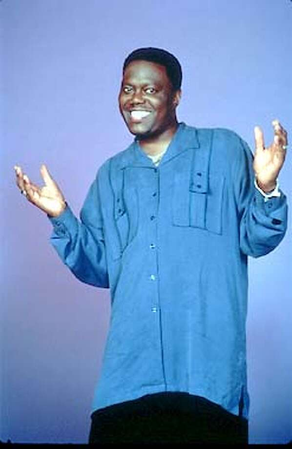 "Bernie Mac, star of the ""The Bernie Mac Show"""