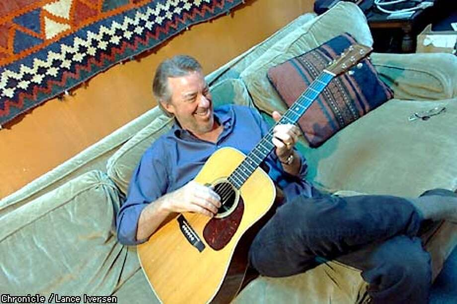 Boz Scaggs relaxes in is San Francisco studio on the eve of his newest album coming out. BY LANCE IVERSEN/SAN FRANCISCO CHRONICLE Photo: LANCE IVERSEN