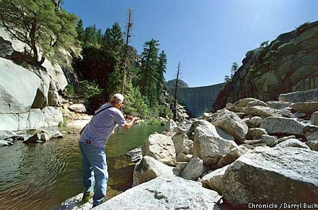 Hidden california discovering a gorge ous gem donnells for Stanislaus river fishing