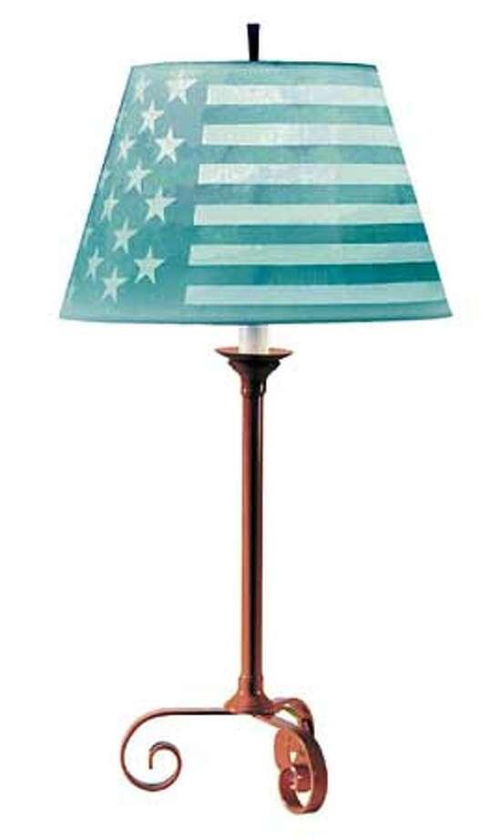 Shady Lady: American Anthem Lamp  (HANDOUT PHOTO) Photo: HANDOUT