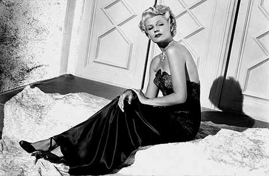 LATINO10-B-07SEO01-DD-HO  Rita Hayworth's Latino heritage was kept from public by studios. HANDOUT.