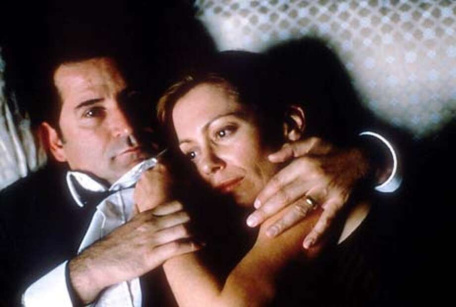"Anthony LaPaglia and Kerry Armstrong in Lion Gate Films ""Lantana."" Photo: HO"