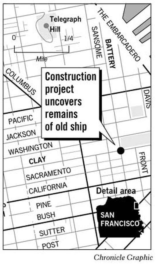 Ghost Ship Location. Chronicle Graphic
