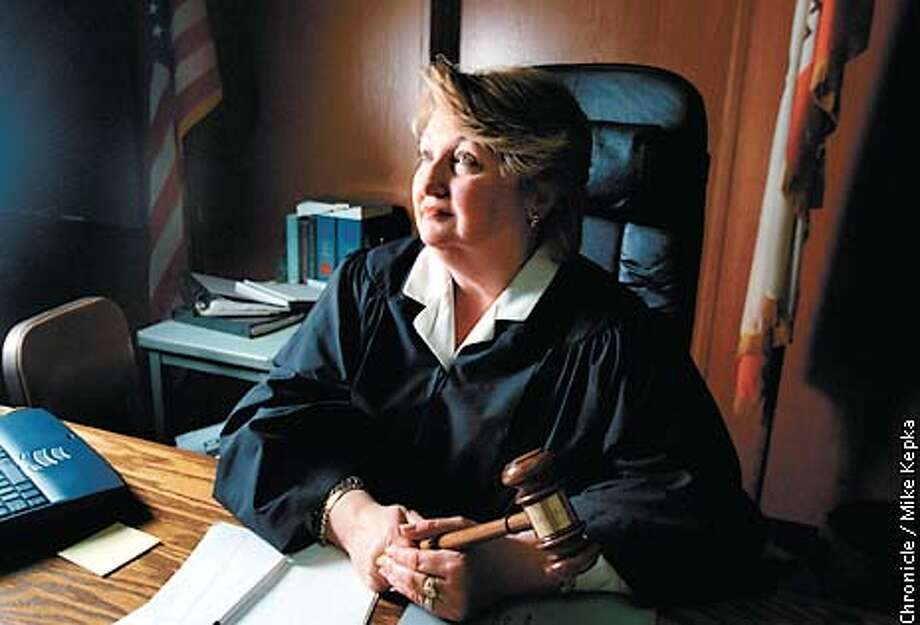 Judge Lois Haight could have a big career in Washington D.C. but she is committed to juvenile justice and Martinez. BY MIKE KEPKA/THE CHRONICLE Photo: MIKE KEPKA