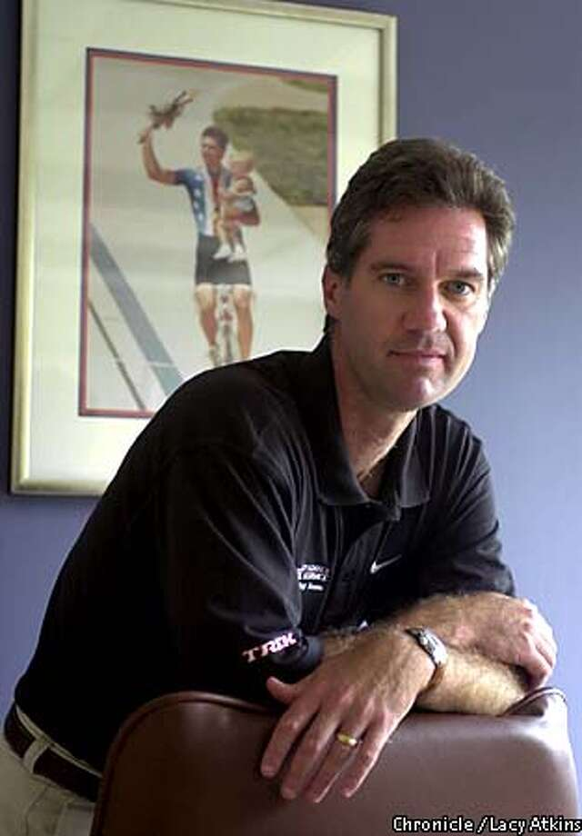 Mark Gorski, 1984 Olympic Gold medalist in now the CEO of Tailwinds Sports, the management firm of Lance Armstrong's Postal Service team. Photo By Lacy Atkins/SanFrancisco Chronicle Photo: Lacy Atkins